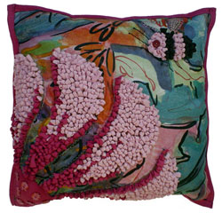 Hooked Textile Cushion From The Bee Kind Range Design 5.